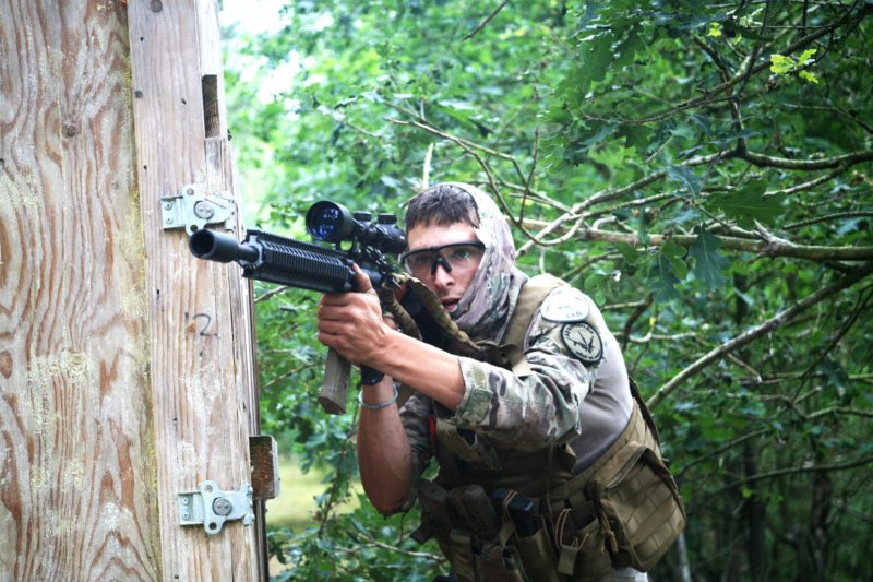 Airsoft sniper bij Airsoft Warriors